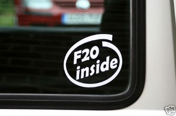 F20 inside,sticker. Honda S2000, Civic VTEC, Accord